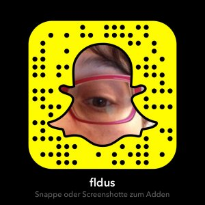 Snapchat-Session mit Filomena in Köln im August 2016